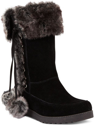 White Mountain Forest Faux-Fur Cold Weather Boots