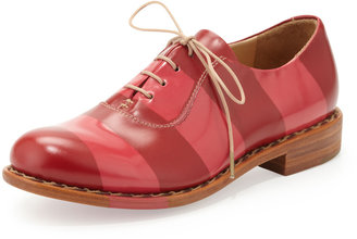 Angela The Office of Scott Mr. Smith Striped Oxford, Garnet