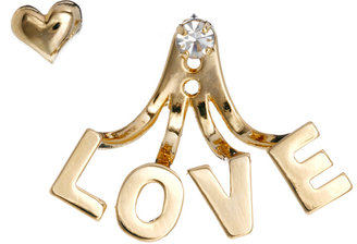 Asos Limited Edition Love Swing Earring