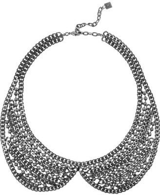 Dannijo Stella silver-tone necklace