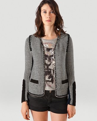 Maje Blazer - Allure with Chain Piping