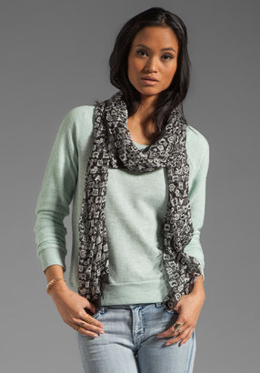 Marc by Marc Jacobs Woven Dreamy Graffiti Scarf