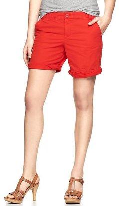 Gap Boyfriend roll-up shorts