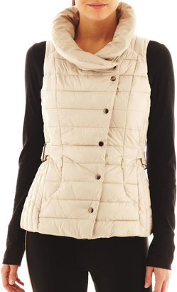 JCPenney Xersion™ Belted Puffer Vest