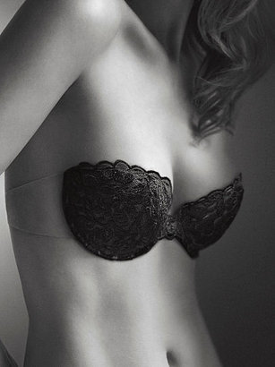 Victoria's Secret Style Secrets Backless Lace Push-Up Bra