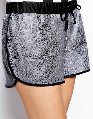 The Ragged Priest Snakeskin Athletic Shorts