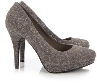 Wallis Grey Platform High Heel