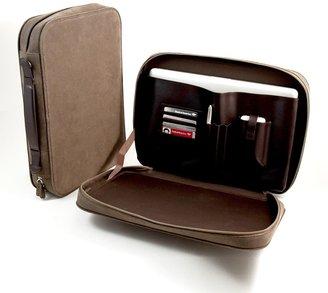 Bey-Berk Ultrasuede Computer Carrying Case