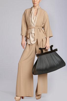 Josie Natori Natural Buntal Bag
