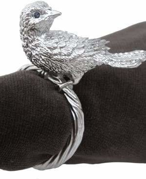 L'OBJET Set of 4 Bird Napkin Rings