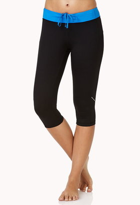 Forever 21 Reflective Performance Capris