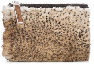 AUGUST Handbags - The Maiori In Fluffy Cheetah