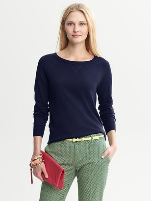 Banana Republic Rib-Knit Pullover