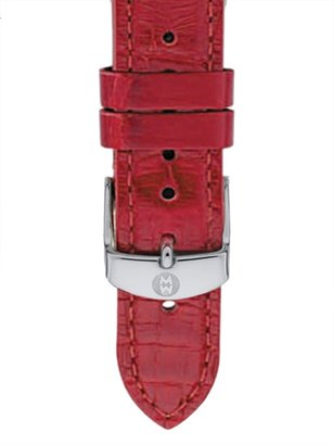 Michele Alligator Leather Watch Strap/16MM