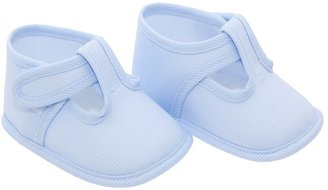 Cambrass Baby Summer Plain Corded T Bar Soft Shoes (9 - 12 Months