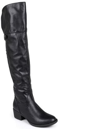 Journee Collection Berry Studded Over-the-Knee Boots - Women