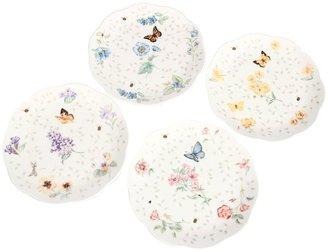Lenox Butterfly Meadow Petite Dessert Plate Set of 4
