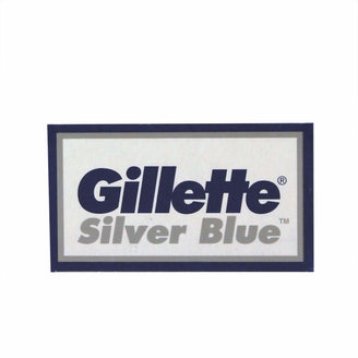 Gillette Silver Blue Double Edge Razor Blades - 5 Pack by 5 Razor Blades)