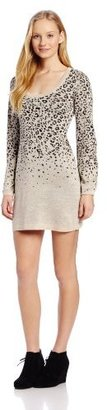 XOXO Juniors Waterfall Animal Sweater Dress