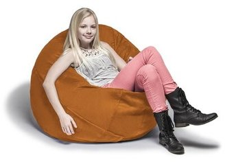 Large Bean Bag Chair & Lounger Jaxx Upholstery: Orange