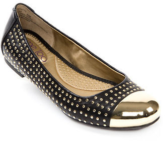 Me Too Kent Studded Leather Flats