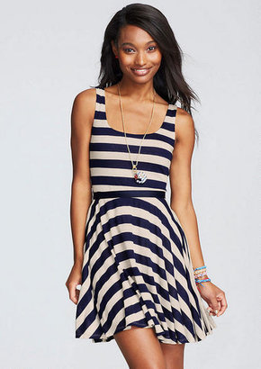 Delia's Nautical Belted Dress