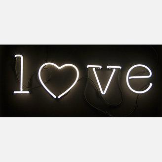 Seletti Neon Font Light Heart