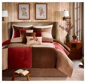 Nobrand No Brand Warren 7 Piece Microsuede Comforter Set