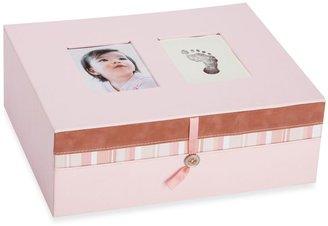Pearhead Pearhead™ Baby Prints Keepsake Box in Pink
