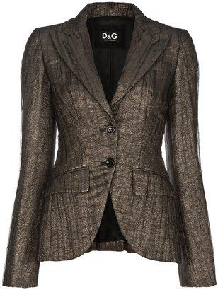 Dolce & Gabbana crease effect blazer