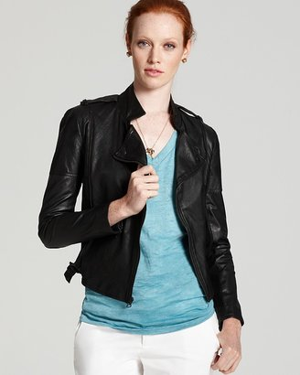 Alice + Olivia Jacket - Quilted Leather Moto