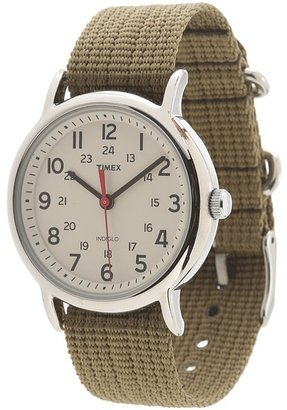 Timex Weekender Slip Through Nylon Strap Watch $44.95 thestylecure.com