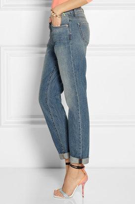 J Brand Aidan mid-rise boyfriend jeans