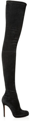 Christian Louboutin Louise XI 120 stretch-suede over-the-knee boots