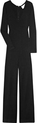Crumpet Cashmere flared jumpsuit