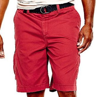 JCPenney The Foundry Supply Co.TM Belted Cargo Shorts-Big & Tall