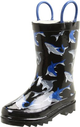 Western Chief Shark City Rain Boot (Toddler/Little Kid)