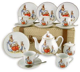 Beatrix Reutter Porcelain Kid's Potter Large 19-Piece Tea Party Set