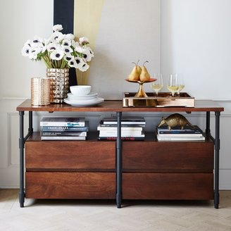 west elm Pipe Media Console - Long