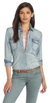 Blank NYC [BLANKNYC] Womens Denim Shirt
