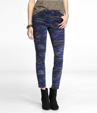 Express Ankle Zip Cargo Legging - Camouflage