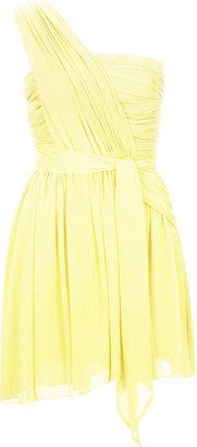Kate Moss for topshop **one shoulder chiffon dress