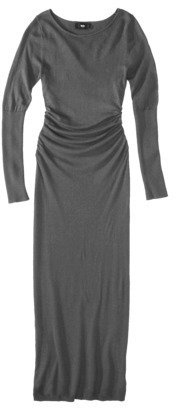Mossimo Women's Longsleeve Scoop Neck Maxi Sweater Dress - Assorted Colors