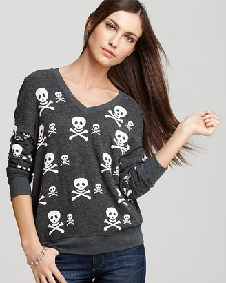 Wildfox Couture Sweater - Knighthood Skull