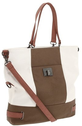 BCBGMAXAZRIA BCBGeneration Leslie Color Block Tote