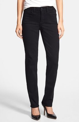 Women's Nydj 'Samantha' Stretch Slim Straight Leg Jeans $110 thestylecure.com