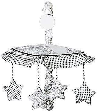 JoJo Designs Sweet Black French Toile Collection Musical Mobile