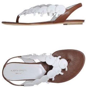 Alberta Ferretti Flip flops