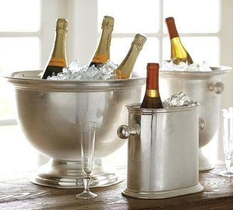 Pottery Barn Hotel Silver-Plated Oversized Bucket