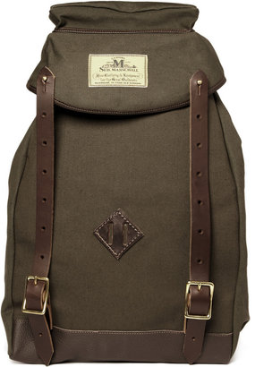 Seil Marschall Climbers Lightweight Canvas Backpack